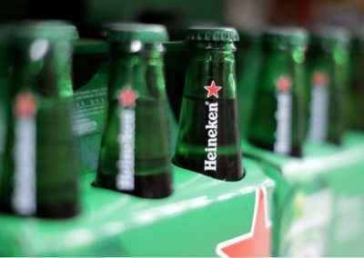 Cervejas da Heineken o posto bar